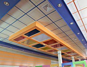 انواع سقف کاذب مشبک :