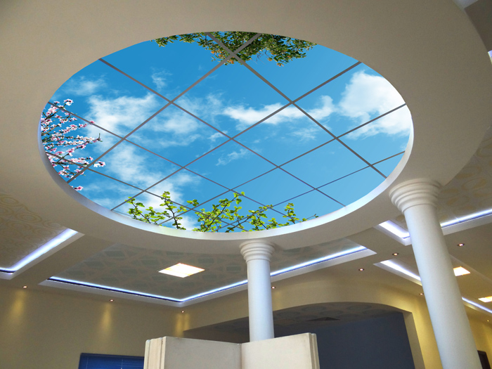 سقف مجازی در منزل |  سقف کاذب | دیوار پوش | کف پوش | پارکت | کاغذ دیواری | کناف | لمینت