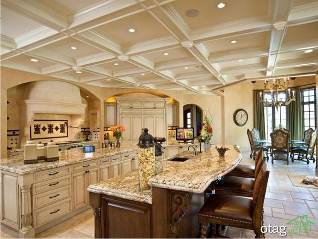 مدل های کناف سقف آشپزخانه جدید و مدرن در خانه های امروزی