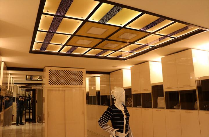 سقف کاذب آی گلس | سقف کاذب | دیوار پوش | کف پوش | پارکت | کاغذ دیواری | لمینت | سرامیک