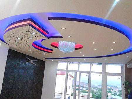 استفاده از سقفهای کاذب در ساختمانهای | سقف کاذب | دیوار پوش | کف پوش | پارکت | پی وی سی