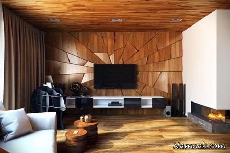 مدل های شیک سقف کاذب چوبی | دیوار پوش | کف پوش | پارکت | کناف | لمینت | سقف کاذب چوبی