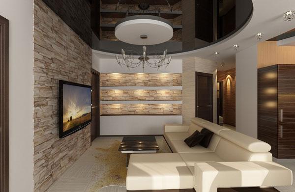 نقش سقف کاذب در زیباسازی منزل |  دیوار پوش | کف پوش | پارکت | کناف | لمینت | کاغذ دیواری