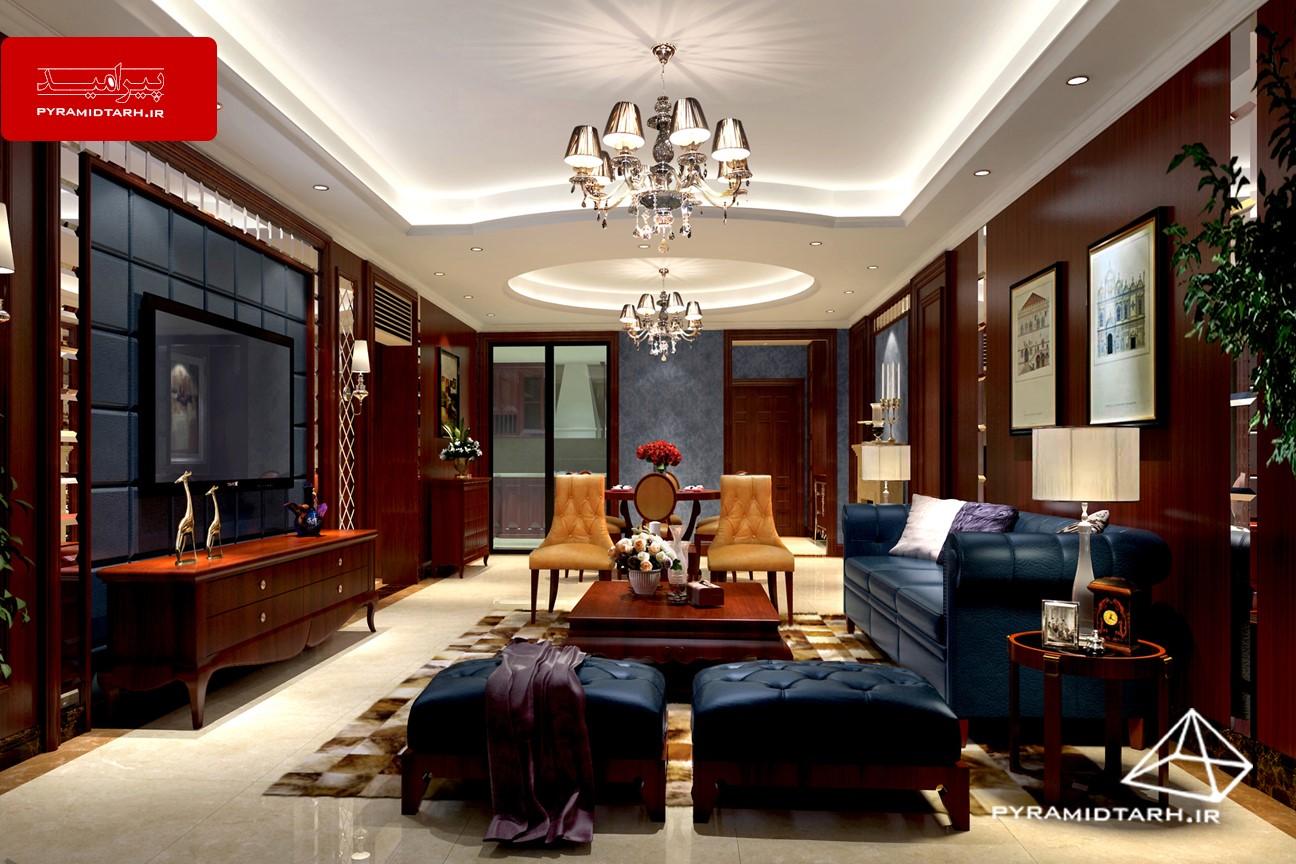 طراحی داخلی منزل با چوب | دیوار پوش | کف پوش | پارکت | کناف | لمینت | سقف کاذب چوبی