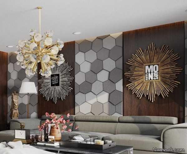 ۱۲دیوارپوش چوبی خلاقانه برای دکوراسیون داخلی