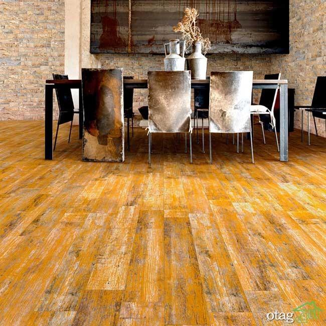 طبیعی ترین مدل های سرامیک طرح چوب مناسب مکان مسکونی و تجاری