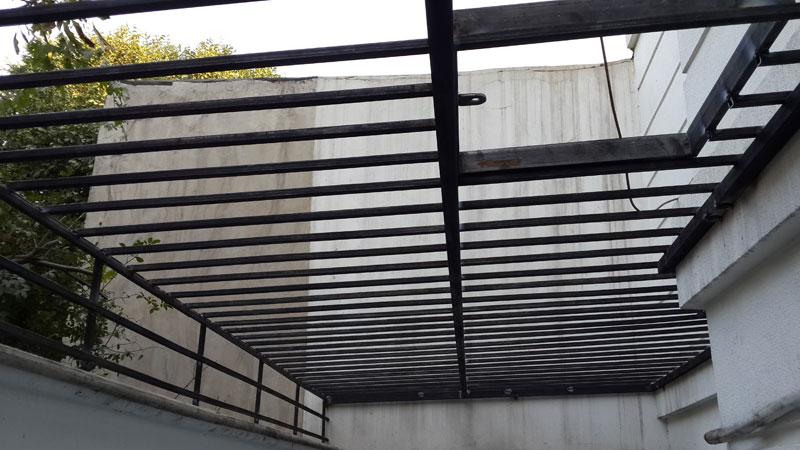 سقف کاذب پاسیو و حیاط خلوت | سقف کاذب | دیوار پوش | کف پوش | پارکت | کناف | پی وی سی
