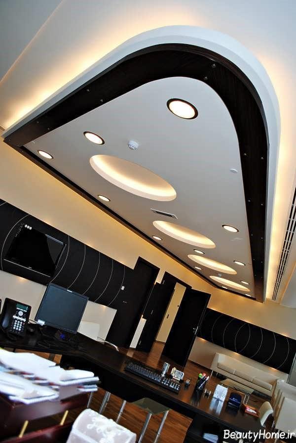 کناف آشپزخانه با طرح های جدید | سقف کاذب | دیوار پوش | کف پوش | پارکت | کناف | pvc