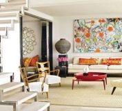 دکوراسیون به سبک مدرن یا معاصر | استفاده از رنگهای جسورانه در طراحی داخلی