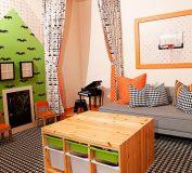 چیدمانی متفاوت برای اتاق کودک | طراحی دکوراسیون داخلی اتاق خواب کودک