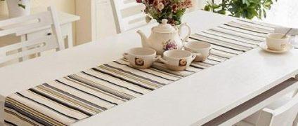 انواع رومیزی برای میز ناهارخوری | نحوهانتخاب رومیزی مناسب چیدمان منزل