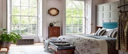انتخاب نور مناسب اتاق خواب | اصول نورپردازی منزل | نورپردازی شیک و زیبا در طراحی دکوراسیون