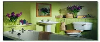 تزئین حمام ساده و ارزان | چیدمان حمام