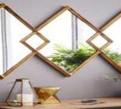 نحوه استفاده تزئینی از آینه | ترئین آینه | استفاده از آینه در دکوراسیون
