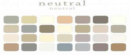 رنگ های خنثی در دکوراسیون داخلی – انواع رنگ در طراحی دکوراسیون | رنگ خنثی در طراحی دکور