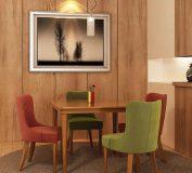 انواع میز ناهارخوری و انتخاب میزناهارخوری مناسب چیدمان خانه |رنگ متنوع در میز ناهارخوری
