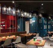 نورپردازی رستوران یا فست فود | اصول نورپردازی فست فود | نورپردازی رستوران | دکورسیون