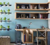 چیدمان اتاق کار در منزل، با این ایده ها خستگی معنا نداره | دکوراسیون اتاق کار | طراحی داخلی اتاق کار