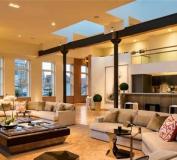 خانه ای با دکوراسیون لوکس | دکوراسیون گران قیمت | طراحی دکوراسیون منزل
