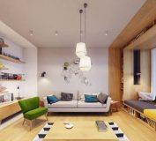 دکوراسیون داخلی با الهام از طبیعت و دکور هندسی   طراحی دکوراسیون منزل   طراحی داخلی ویلا
