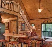 مدل های طراحی خانه چوبی با ایده های مختلف و جذاب   طراحی دکوراسیون خانه چوبی