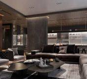طراحی داخلی دو خانه لاکچری با استفاده از فلز مس و دکوراسیون پر زرق و برق | طراحی دکوراسیون منزل