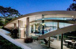 11 تصویر از دکوراسیون ویلای شیشه ای مدرن با طراحی خلاقانه | طراحی ویلای شیشه ایی مدرن