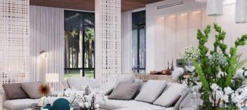 ایده های نو در دکوراسیون خانه ای بسیار زیبا | طراحی داخلی ویلا | چیدمان ویلا | ساخت ویلا