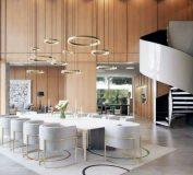 تصاویر ویلایی مدرن در کالیفرنیا با طراحی خاص و زیبا | طراحی دکوراسیون ویلا | ساخت ویلا