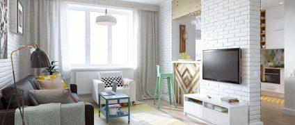 ایده های جالب برای طراحی داخلی آپارتمان های کوچک | طراحی داخلی | رنگ مناسب دکوراسیون داخلی