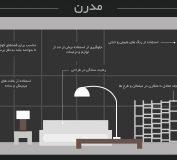 طراحی داخلی و نکات کلیدی در چیدمان فضا | سبک های دکوراسیون داخلی | انواع سبک های دکوراسیون