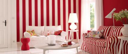 تنوع دکوراسیون و رنگ آمیزی خانه با رنگ های تند و شاد | طراحی داخلی منزل | انواع دکوراسیون داخلی