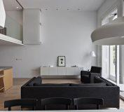 آپارتمانی با دکوراسیون مینیمالیست و دیزاین ساده در لندن | دکوراسیون داخلی منزل | طراحی داخلی